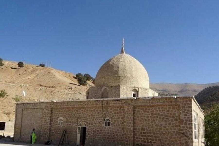 مرمت بنای تاریخی بقعه متبرکه امامزاده علی (ع) آغاز شد