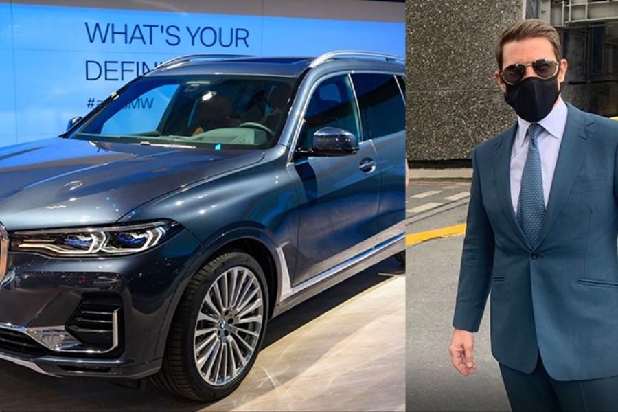 تصویر سرقت BMW تام کروز