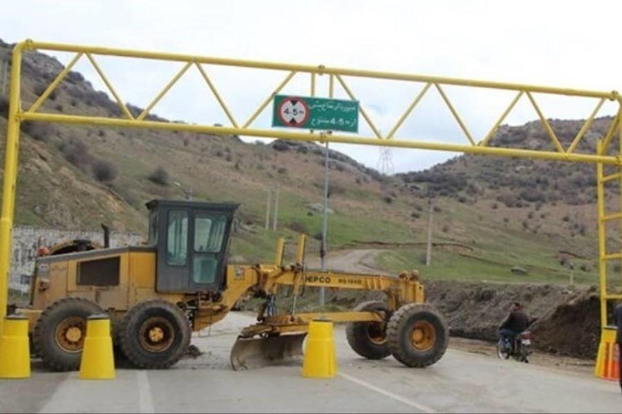 6 جاده مسدود است/ ترافیک سنگین در آزادراه کرج