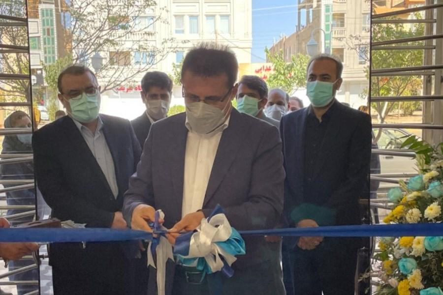 ساختمان جدید بیمه سینا در بیرجند افتتاح شد
