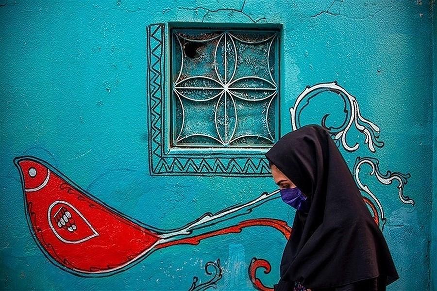 نخستین کوچه گالری ایران در نارنجستان قوام-شیراز