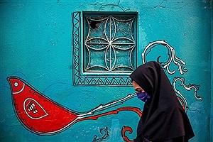 تصویر  نخستین کوچه گالری ایران در نارنجستان قوام-شیراز