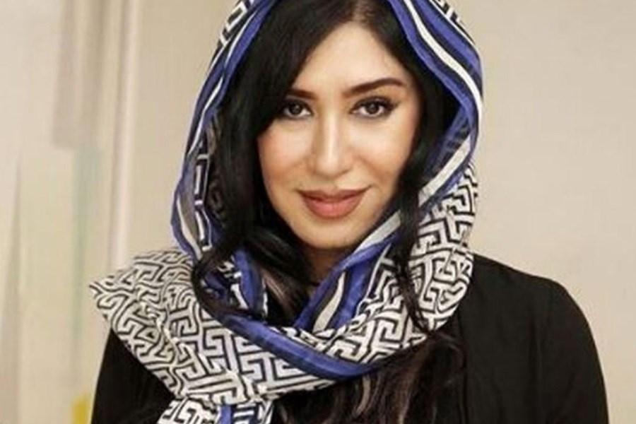 تصویر پست عاشقانه نسیم ادبی برای شوهر مرحومش