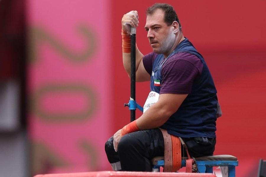 پرتابگر وزنه ایرانی در پارالمپیک ششم شد
