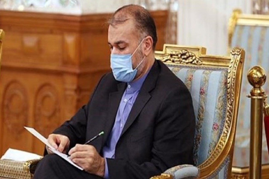 پیام تبریک امیرعبداللهیان به دولت و ملت تاجیکستان به مناسبت سالگرد استقلال این کشور