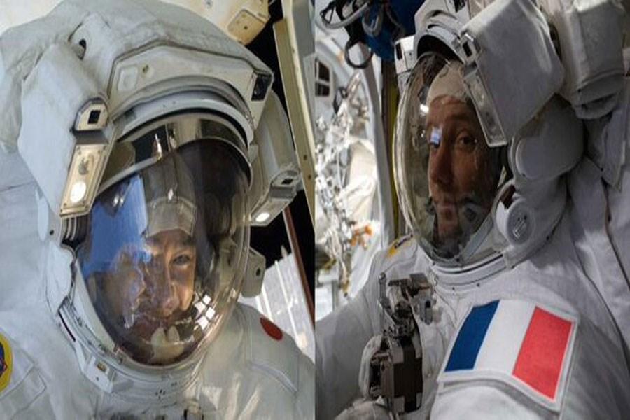 فضانوردان برای یک پیاده روی فضایی دیگر آماده میشوند