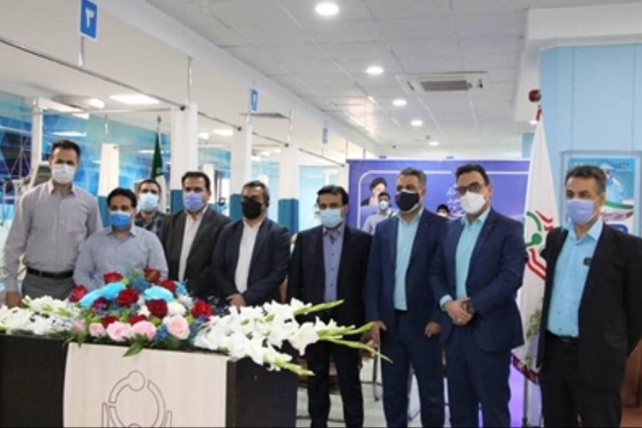 افتتاح بخش مگا آی سی یو بیمارستان امام (ره) اهواز با مشارکت بانک رفاه