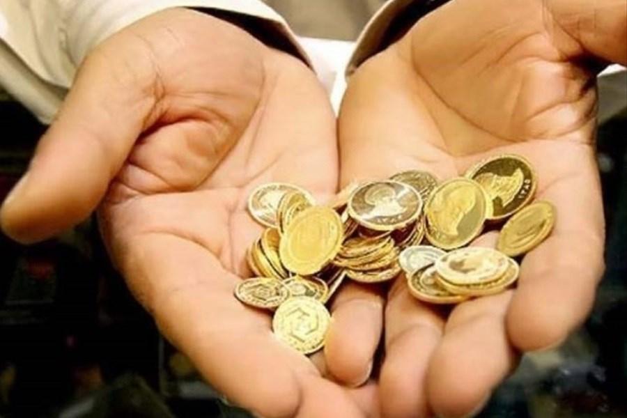 نیم سکه 6 میلیون و 170 هزار تومان