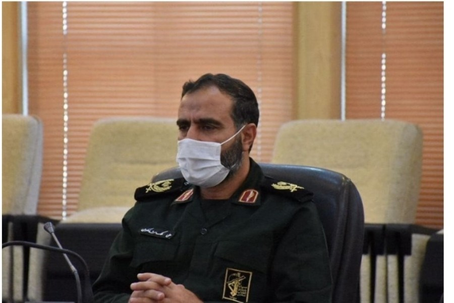 تصویر حضور پررنگ نیروهای بسیجی استان گلستان در کنار کادر درمان