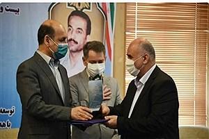 تصویر  تجلیل از دستگاههای اجرایی برتر گلستان در جشنواره شهید رجایی