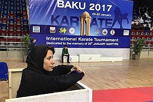 تصویر  لاله صمدی مربی تیم ملی کاراته بانوان شد