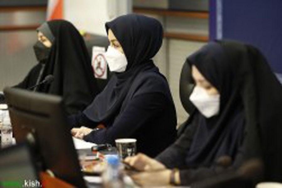 جلسه هم اندیشی تنظیم سند ارتقاء وضعیت زنان و خانواده در کیش برگزار شد