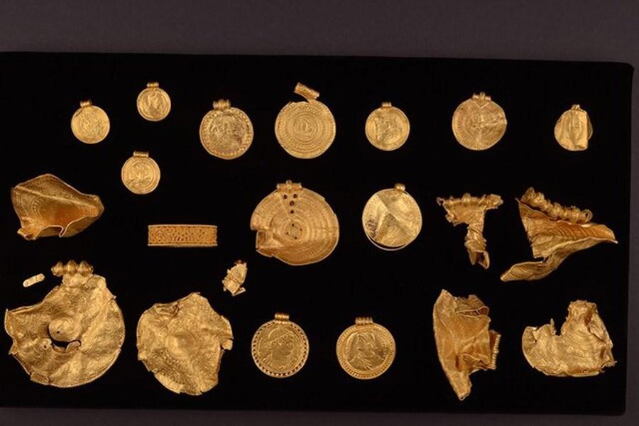 کشف گنجینهای تاریخی متعلق به قرن ششم میلادی در دانمارک