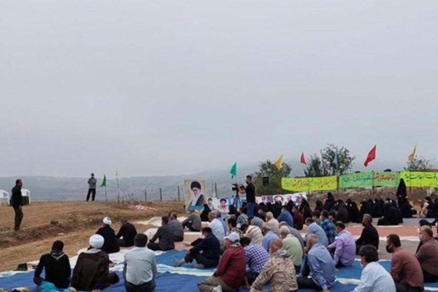 برگزاری بیست و چهارمین یادواره شهدای کیاسر