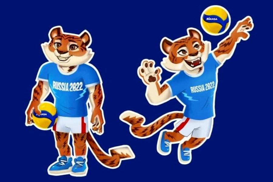 نماد مسابقات والیبال قهرمانی مردان جهان رونمایی شد