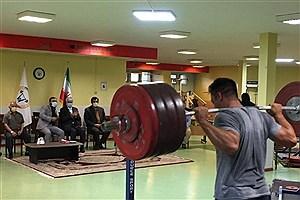 تصویر  حضور سجادی در اردوی تیم ملی وزنه برداری