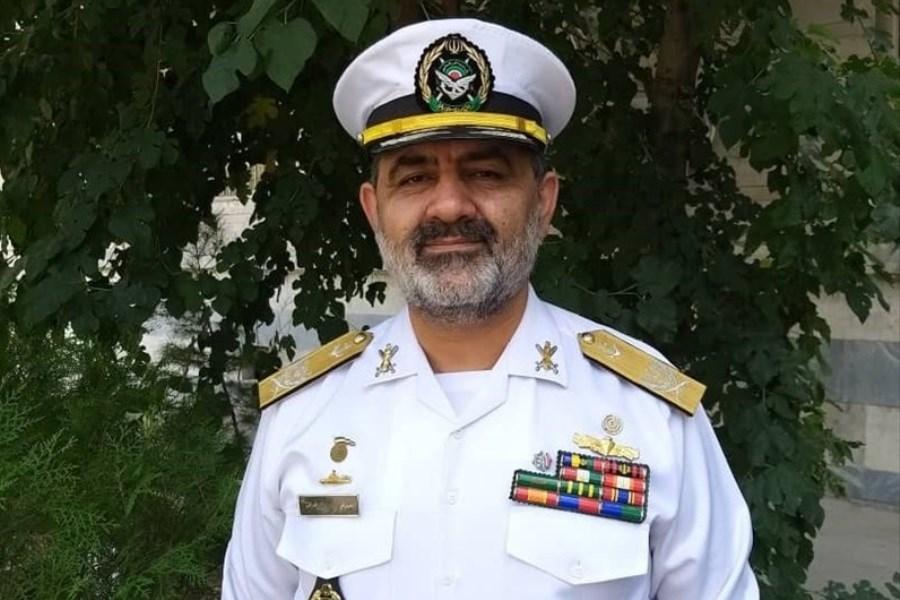 فرمانده نیروی دریایی ارتش با کارکنان ناوگروه ۷۵ دیدار کرد
