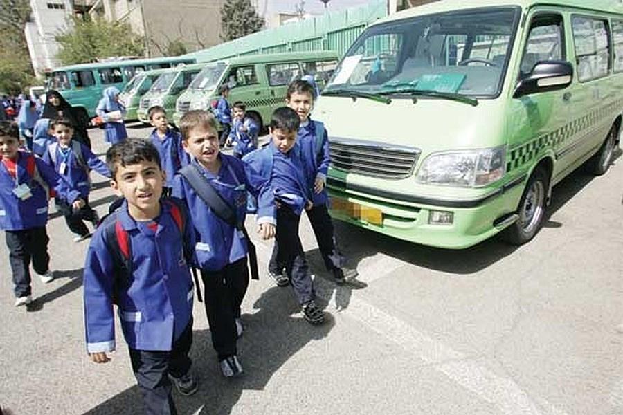 ساماندهی سرویسهای مدارس برای آغاز حضوری سال تحصیلی