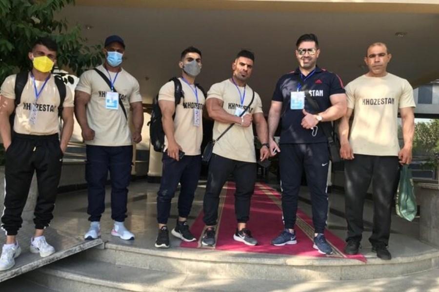 خوزستانیها در انتخابی تیمملی پرورشاندام مدال آوری کردند