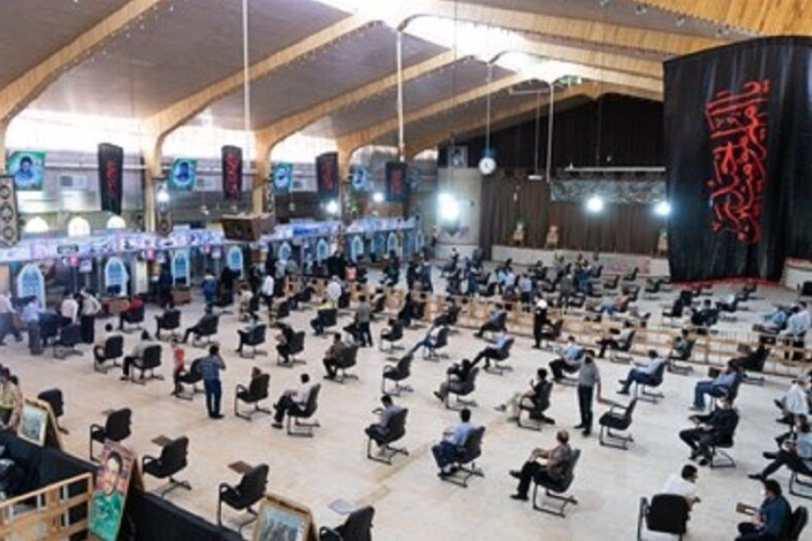 بزرگترین مرکز واکسیناسیون البرز در هفته دفاع مقدس