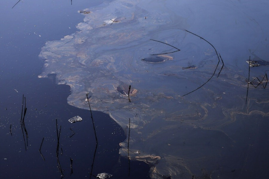 پاکسازی آلودگی نفتی اروندرود پس از چهار روز