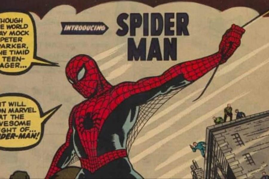 کتاب مرد عنکبوتی رکورد سوپرمن را زد