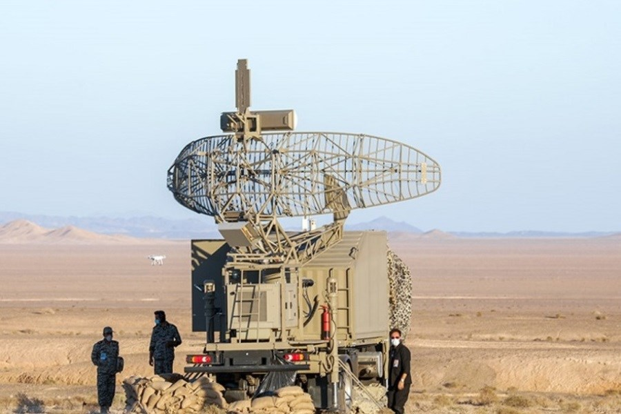 بازدید فرمانده نیروی پدافند هوایی ارتش از سایت رادار بیرک