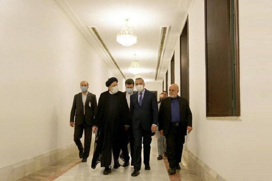 استقبال رسمی رئیسی از نخست وزیر عراق در ساختمان اجلاس سران