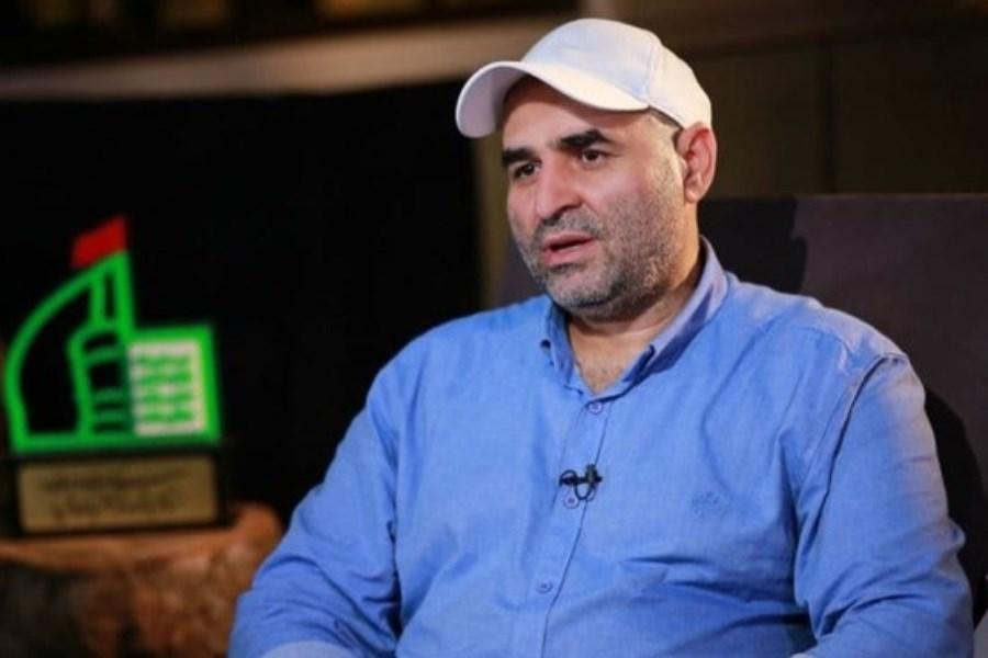 تصویر سخنان علی مسعودی در برنامه «نشان ارادت»