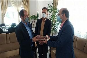 تصویر  مراسم تودیع و معارفه رئیس شرکت برق قوچان