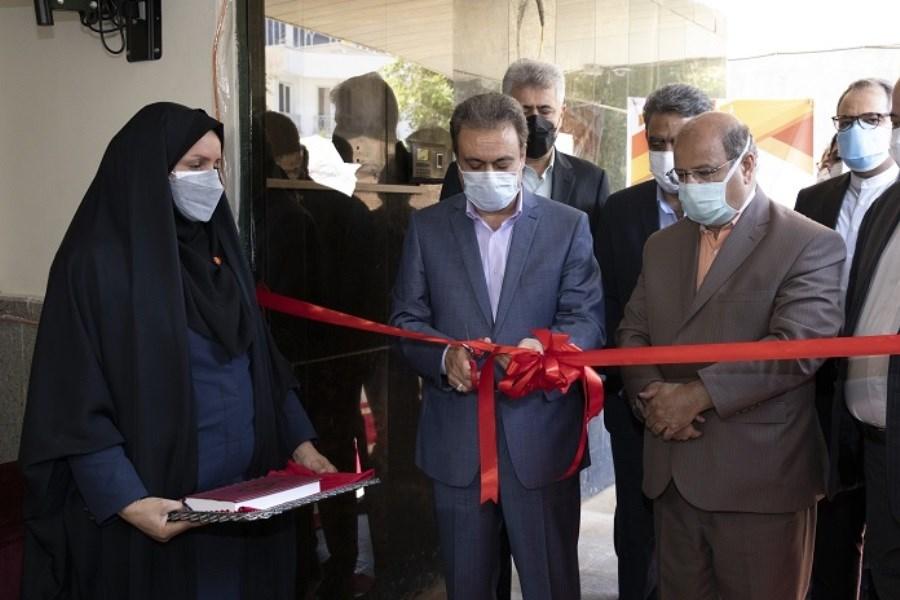 مرکز واکسیناسیون کووید 19 بانک ملت افتتاح شد