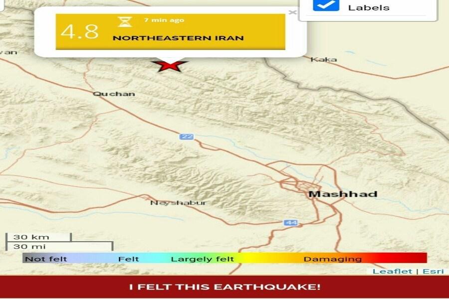 جزئیات دقیق از زلزله قوچان