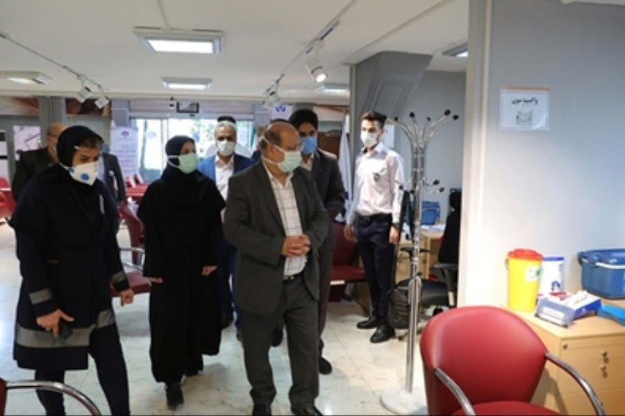 تصویر قدردانی فرمانده قرارگاه عملیاتی مدیریت کرونا تهران از بانک رفاه