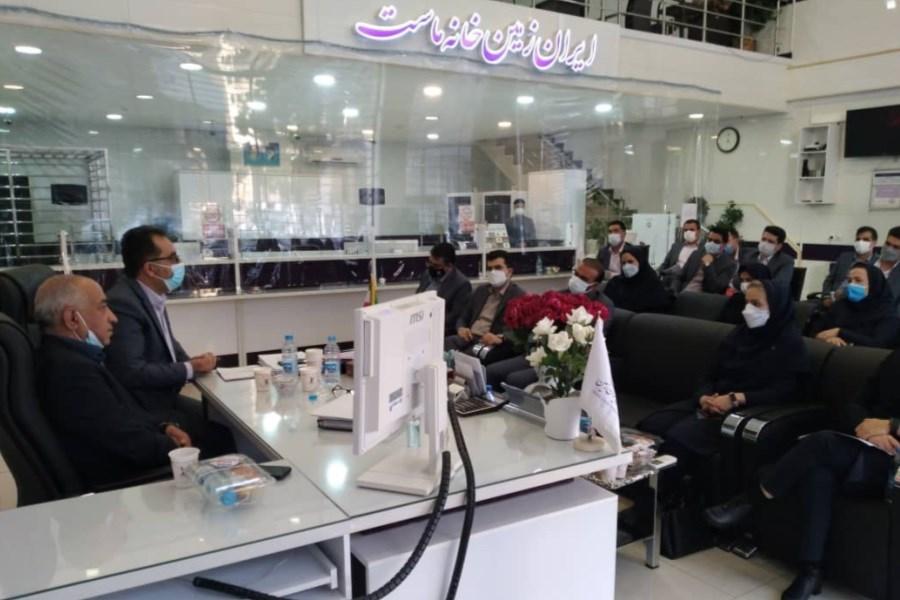 تصویر برگزاری جلسه مدیریت شعب استان کرمان بانک ایران زمین