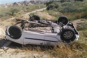 تصویر  برخورد سواری با کامیون در محور طبس_یزد 5 کشته برجای گذاشت