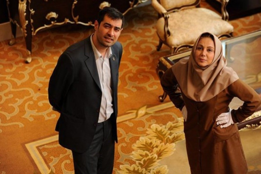 تصویر شهاب حسینی با «پنج ستاره» مهمان آیفیلمی ها