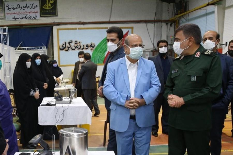 ۲۰۰ مرکز تزریق واکسن کرونا در تهران فعالیت میکنند