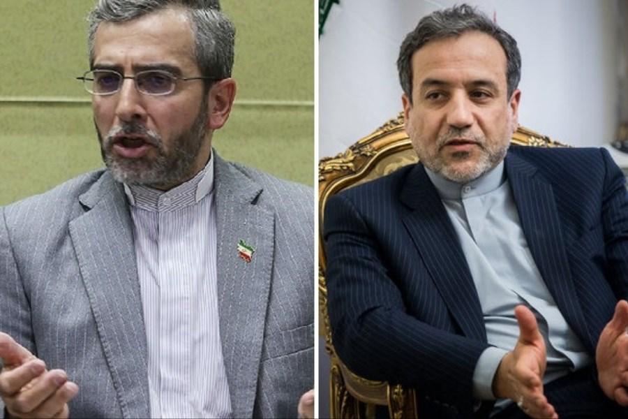 """تصویر """"علی باقری"""" معاون سیاسی وزیر امور خارجه شد"""