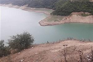 تصویر  وضعیت نامناسب ذخیره آب در سدهای مازندران