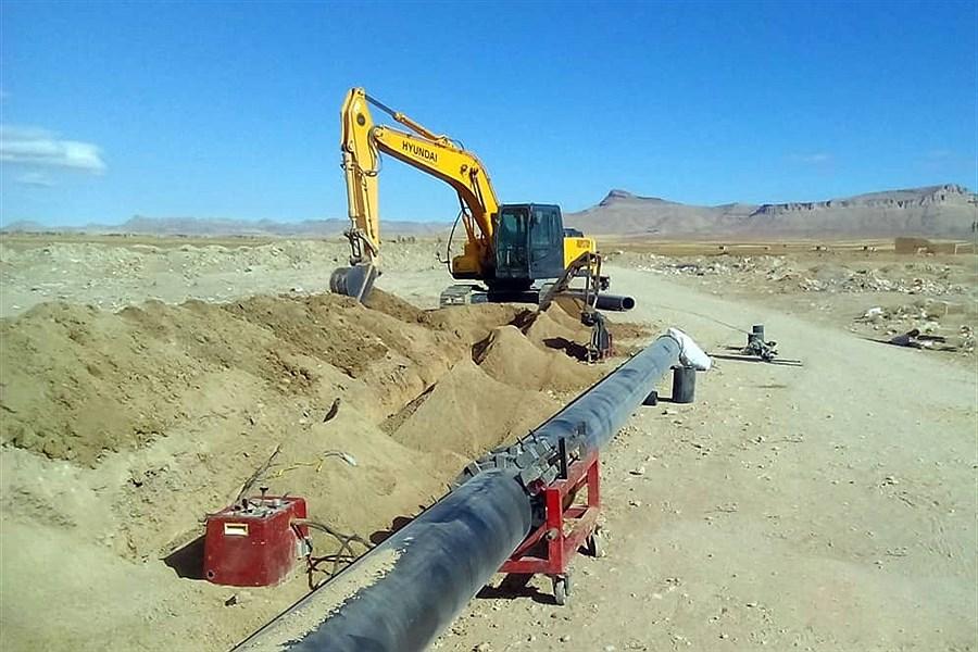 تصویر استانداردسازی و اصلاح شبکههای آبرسانی در روستاهای شهرستان درگزین