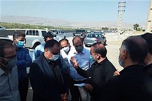 تصویر  نائب رئیس شورای شهر کرج در مورد خطرات جاده قزلحصار هشدار داد