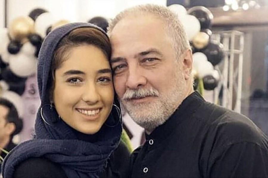 واکنش کاربران فضای مجازی به انتشار عکس خصوصی ایرج نوذری و دخترش