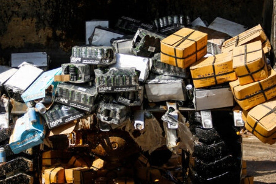 تصویر ۳۸۰ میلیون تومان کالای قاچاق در خراسان جنوبی منهدم شد