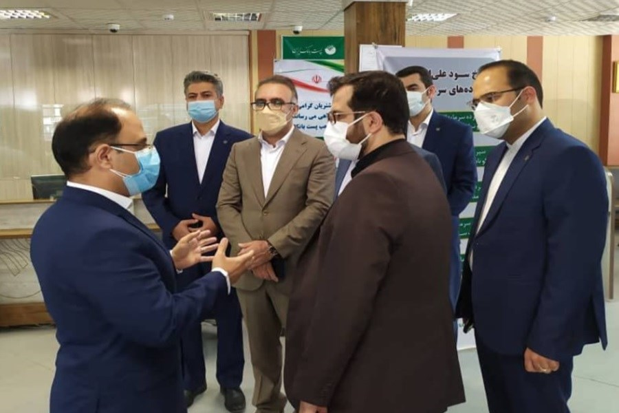 قدردانی رئیس مرکز بازرسی، نظارت مدیریت از پست بانک ایران