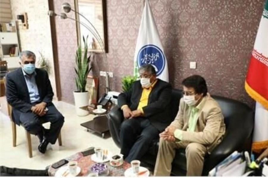 تصویر «علیرضا افتخاری» عضو جدید موسسه هنرمندان پیشکسوت