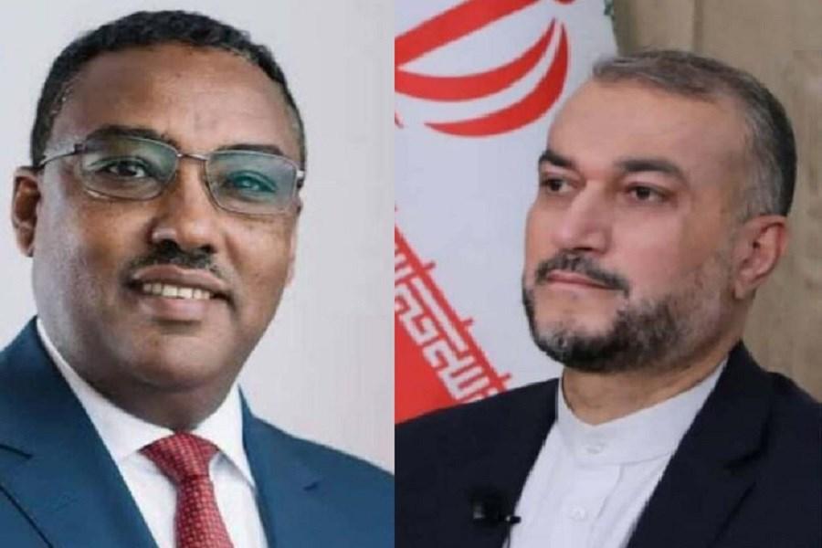 پیام تبریک وزیر خارجه اتیوپی به امیرعبداللهیان درپی انتصاب وی