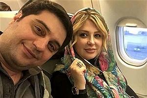 تصویر  نیوشا ضیغمی از همسرش جدا شد!