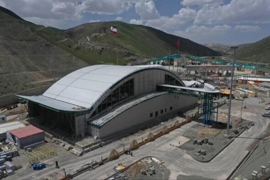 طرح جامع پایانه مرزی رازی شهرستان خوی77 درصد پیشرفت فیزیکی دارد