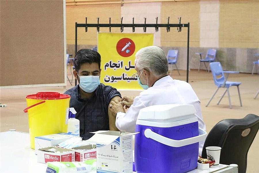 تصویر واکسیناسیون به 37 سالهها رسید