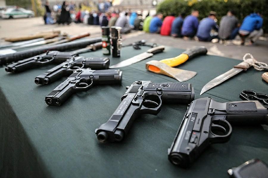 عملیات ضربتی کشف سلاح غیر مجاز در لرستان